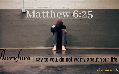 Is Worrying a Sin?
